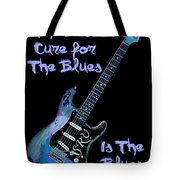 Blues Is The Cure Tote Bag