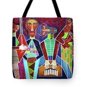Blues Music Tote Bag