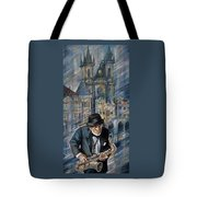 Blues Of Prague. Tote Bag