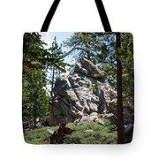 Bluff Lake Ca Boulders 1 Tote Bag