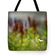Bluff Lake Ca Wild Flowers 1 Tote Bag