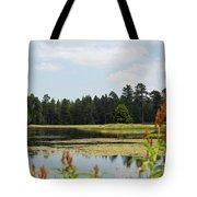 Bluff Lake Ca Wild Flowers 11 Tote Bag