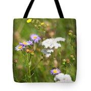 Bluff Lake Ca Wild Flowers 6 Tote Bag