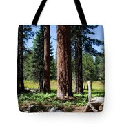 Bluff Lake Forest 3 Tote Bag