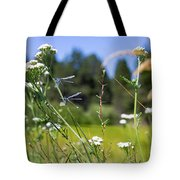 Bluff Lake Wild Flowers 2 Tote Bag