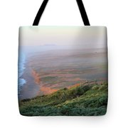 Bluffs And South Beach Point Reyes Tote Bag