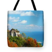 Bluffs Splendour - Scarborough Bluffs Tote Bag