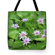 Blumen Des Wassers - Flowers Of The Water 22 Tote Bag