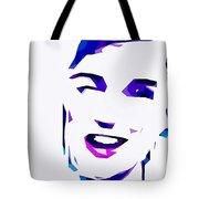 Blur Girl 13 Tote Bag