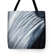 Blurred Detail For Falling Water Tote Bag