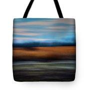 Blurred Field Tote Bag