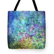 Blurred Garden 4798 Idp_2 Tote Bag