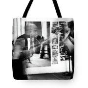 Blurred Training Tote Bag