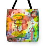 Blurry Mushroom And Other Things Tote Bag