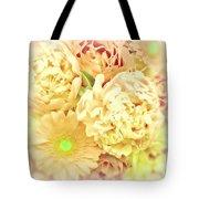 Blush Floral Bouquet Tote Bag