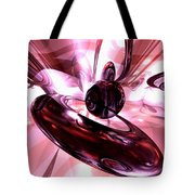 Blushing Abstract Tote Bag