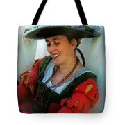 Blushing Bavarian Bridesmaid Tote Bag