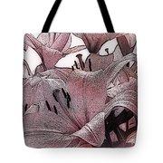 Blushing Lilies Tote Bag