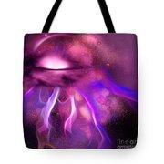 Blushing Nebula Tote Bag