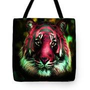 Blushing Tiger Tote Bag