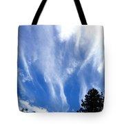 Blustery Sky Tote Bag