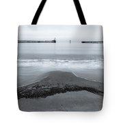 Blyth Beach And Pier #5 Tote Bag