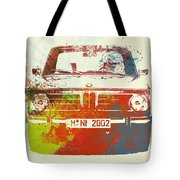 Bmw 2002 Front Watercolor 2 Tote Bag