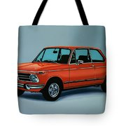 Bmw 2002 1968 Painting Tote Bag