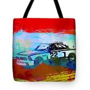 Bmw 3.0 Csl Racing Tote Bag by Naxart Studio