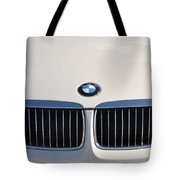 Bmw Grille White Tote Bag