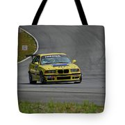 Bmw M3 Tire Rack Tote Bag