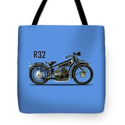 The R32 Motorcycle Tote Bag