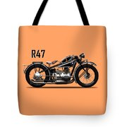 The R47 Motorcycle Tote Bag