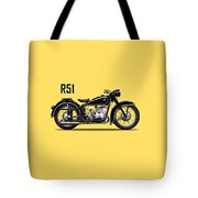 The R51 Motorcycle Tote Bag