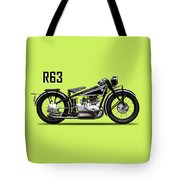 The R63 Motorcycle Tote Bag