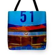 Bmw Racing Colors Tote Bag by Naxart Studio