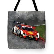 B M W Racing Tote Bag