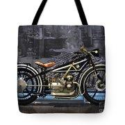 Bmw Vintage Motorcycle Tote Bag