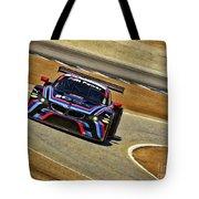 Bmw Z4 Gte Gt Le Mans Tudor Tote Bag