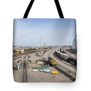 Bnsf Northtown Yard 4 Tote Bag