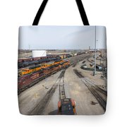 Bnsf Northtown Yard 6 Tote Bag