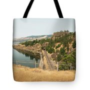 Bnsf Tunnel Tote Bag