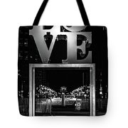 Bnw Philly Love 0218c Tote Bag