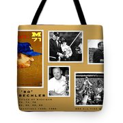 Bo Schembechler Legend Five Panel Tote Bag