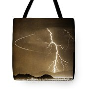 Bo Trek Lightning Art Tote Bag