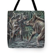 Boar Room Brawl Tote Bag