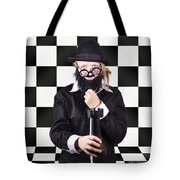 Board Member With Tactical Strategy Game Plan Tote Bag