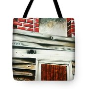 Boarded Tote Bag