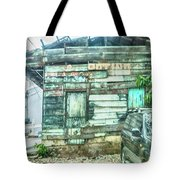 Boarded Up Tote Bag