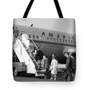 Boarding American Airlines Tote Bag